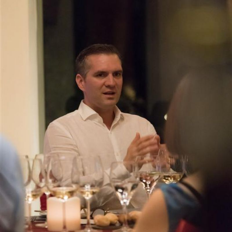files/events/Wittmann wine dinner at Banyan Tree Phuket/Mr.Phillip Wittmann (wine maker of Weingut Wittman) (Large).jpg